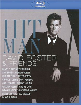 Cover image for Hit man David Foster & friends