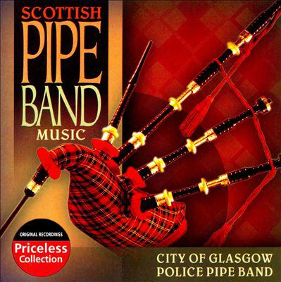 Cover image for Scottish pipe band music