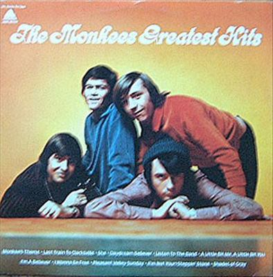 Cover image for The Monkees greatest hits.