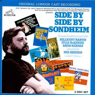 Cover image for Side by side by Sondheim original London cast recording.