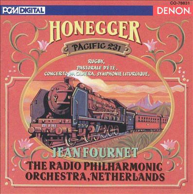 Cover image for Honegger orchestral works