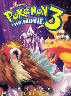 Cover image for Pokémon 3 the movie