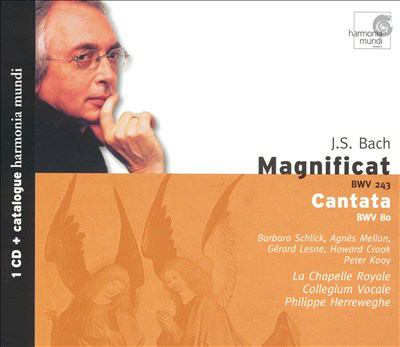 Cover image for Magnificat BWV 243 ; Cantata BWV 80
