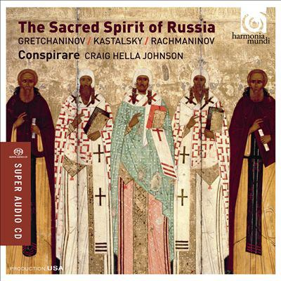 Cover image for The sacred spirit of Russia
