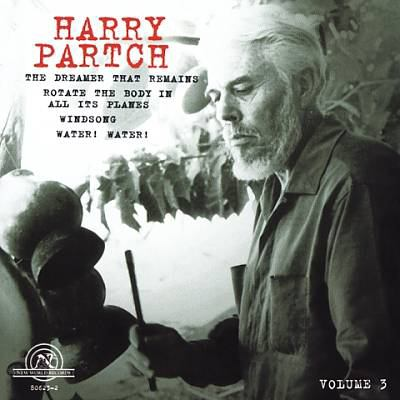 Cover image for The Harry Partch collection. Volume 3
