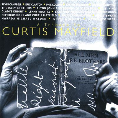 Cover image for A tribute to Curtis Mayfield