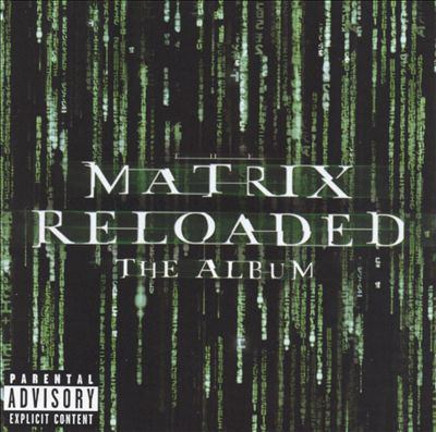 Cover image for The matrix reloaded the album.