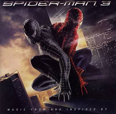 Cover image for Spider-man 3 music from and inspired by.