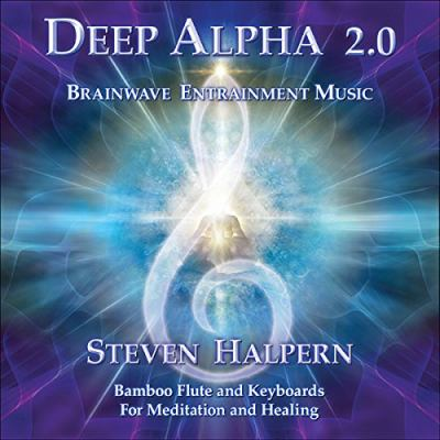 Cover image for Deep alpha 2.0 : brainwave entrainment music for meditation and healing : bamboo flute and keyboards