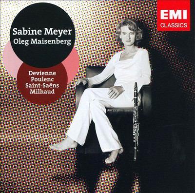 Cover image for Saint Saëns, Poulenc, Devienne, Milhaud