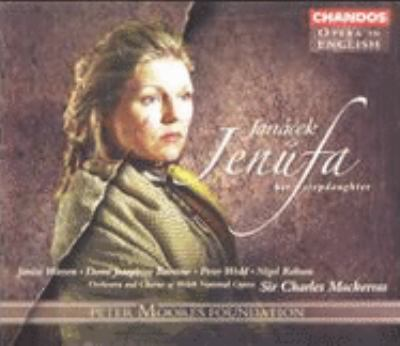 Cover image for Jenůfa, her stepdaughter