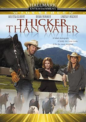 Cover image for Thicker than water