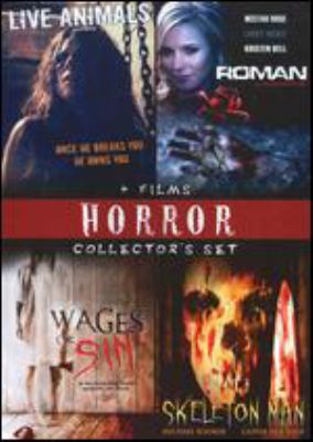 Cover image for Horror collector's set 4 films.