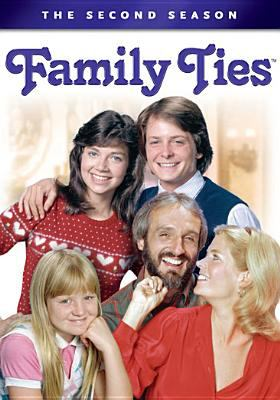 Cover image for Family ties. The second season