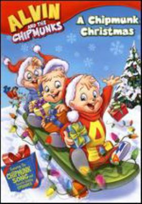 Cover image for Alvin and the Chipmunks. A Chipmunk Christmas