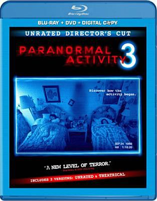 Cover image for Paranormal activity 3