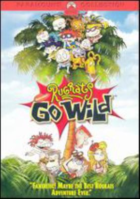 Cover image for Rugrats go wild