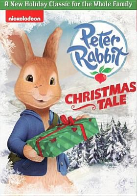 Cover image for Peter Rabbit. Christmas tale