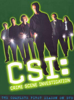Cover image for CSI: crime scene investigation. Season one