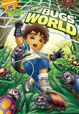Cover image for Go Diego go! It's a bugs' world