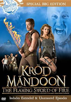 Cover image for Kröd Mändoon and the flaming sword of fire