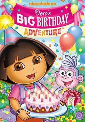 Cover image for Dora's big birthday adventure