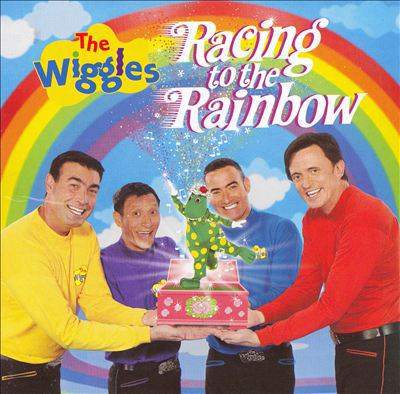 Cover image for The Wiggles. Racing to the rainbow