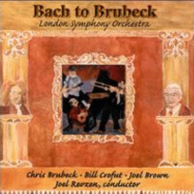 Cover image for Bach to Brubeck
