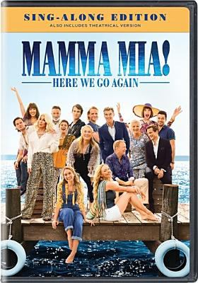 Cover image for Mamma mia!. Here we go again
