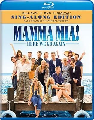 Cover image for Mamma mia!. Here we go again