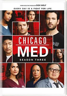 Cover image for Chicago med. Season three.