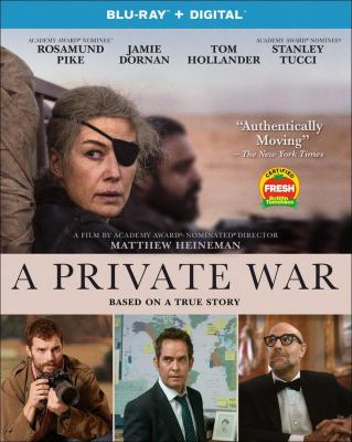 Cover image for A private war