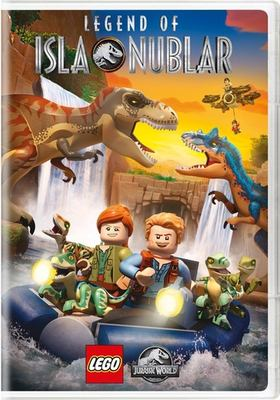 Cover image for LEGO Jurassic world. Legend of Isla Nublar