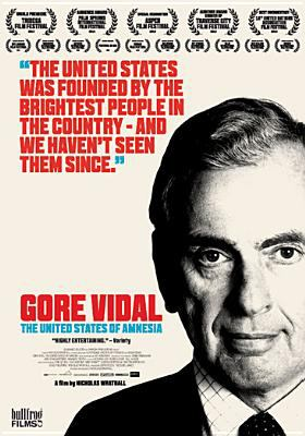 Cover image for Gore Vidal the United States of amnesia