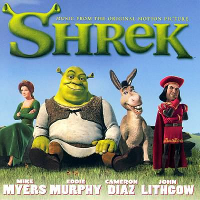 Cover image for Shrek music from the original motion picture.