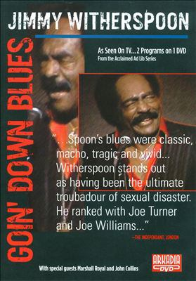 Cover image for Jimmy Witherspoon goin' down blues