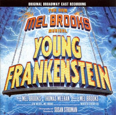 Cover image for Young Frankenstein the new Mel Brooks musical