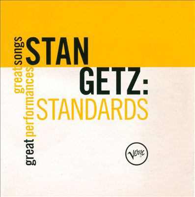 Cover image for Stan Getz standards.