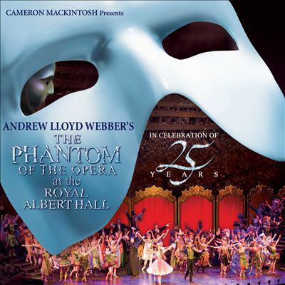 Cover image for The phantom of the opera at the Royal Albert Hall