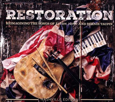 Cover image for Restoration : reimagining the songs of Elton John and Bernie Taupin.