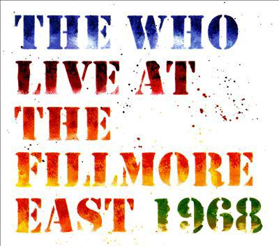 Cover image for Live at the Fillmore East 1968