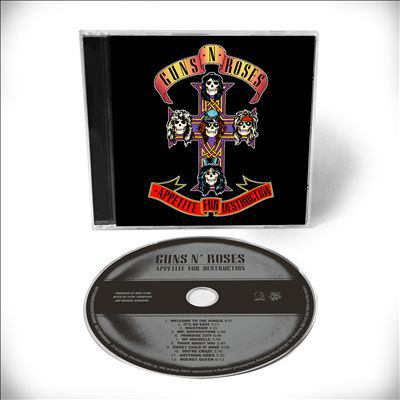 Cover image for Appetite for destruction