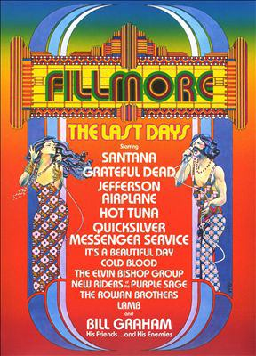 Cover image for Fillmore the last days.