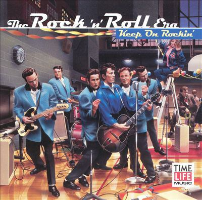 Cover image for Rock 'n' roll era. Keep on rockin'