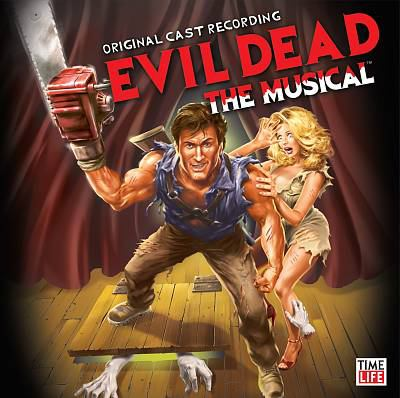 Cover image for Evil dead, the musical original cast recording.