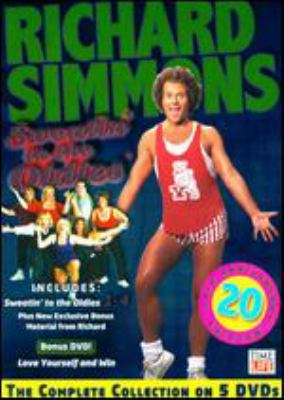 Cover image for Sweatin' to the oldies [an aerobic concert with Richard Simmons!]