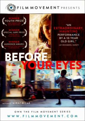 Cover image for Before your eyes