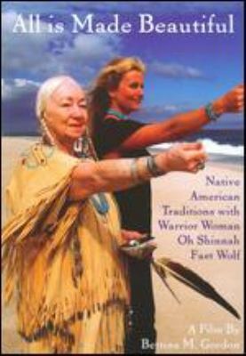 Cover image for All is made beautiful Native American traditions