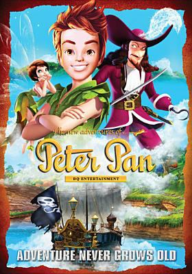 Cover image for The new adventures of Peter Pan