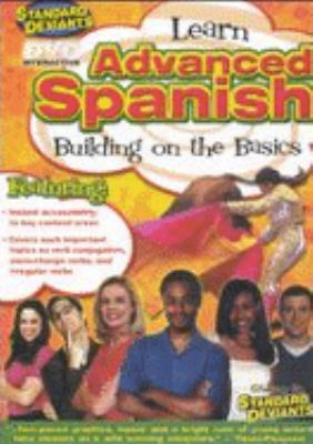 Cover image for Advanced Spanish : building on the basics
